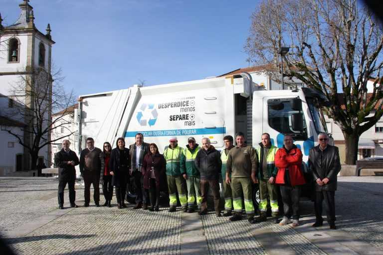 Jornal Campeão: Condeixa-a-Nova recebe nova viatura de recolha de resíduos recicláveis