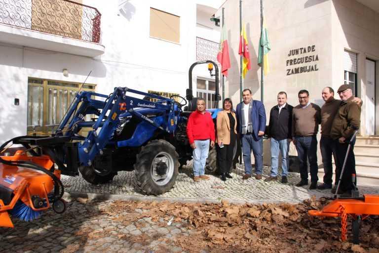 Jornal Campeão: Condeixa-a-Nova: Zambujal tem novo equipamento para limpeza