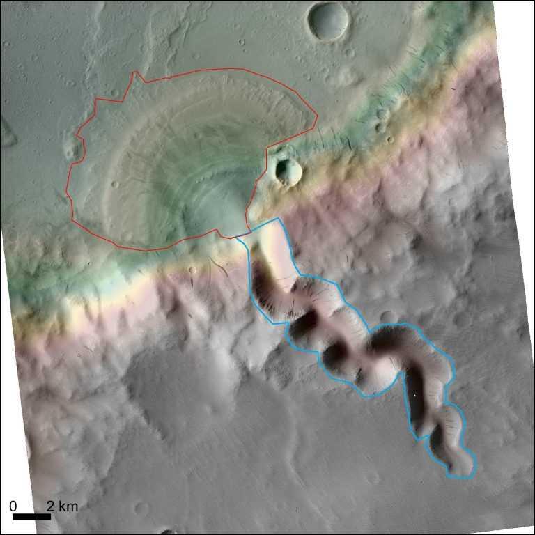 Jornal Campeão: UC: Nem todos os deltas identificados em Marte são verdadeiros