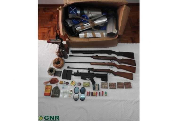 Jornal Campeão: GNR apreendeu armas por violência doméstica em Cantanhede e Anadia