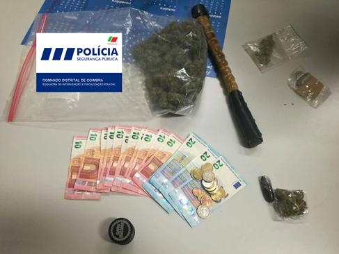 """Jornal Campeão: Detido por tráfico de droga na """"Baixa"""" de Coimbra"""