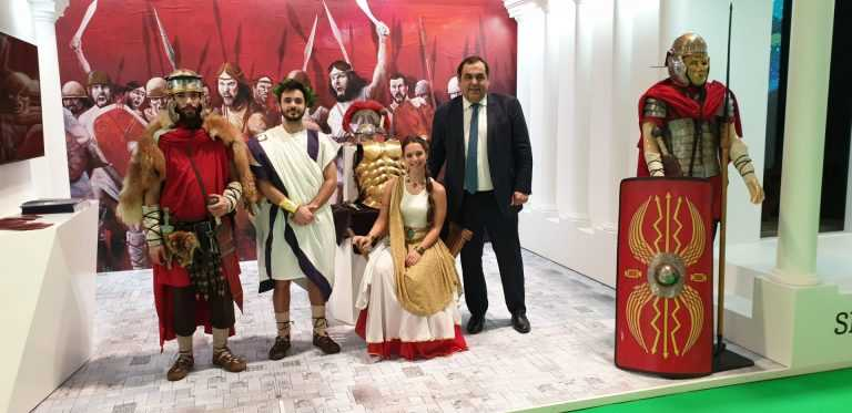 Jornal Campeão: Condeixa: Património romano promove-se na FITUR de Madrid