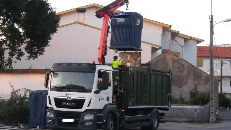 Jornal Campeão: Trabalhadores da ERSUC em greve na recolha de lixo