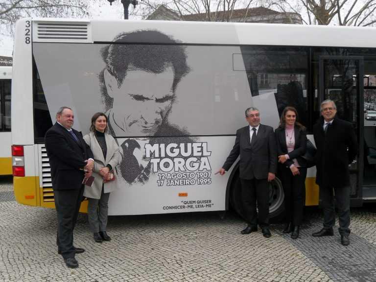 Jornal Campeão: SMTUC com mais oito autocarros e que homenageiam Miguel Torga