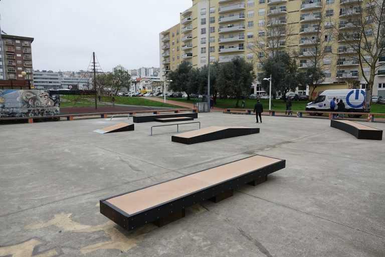 Jornal Campeão: Coimbra: Parque do Vale das Flores com mais equipamentos para o skate