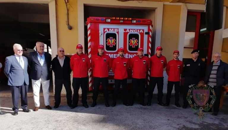 Jornal Campeão: Bombeiros Voluntários de Coimbra com Equipa de Intervenção Permanente