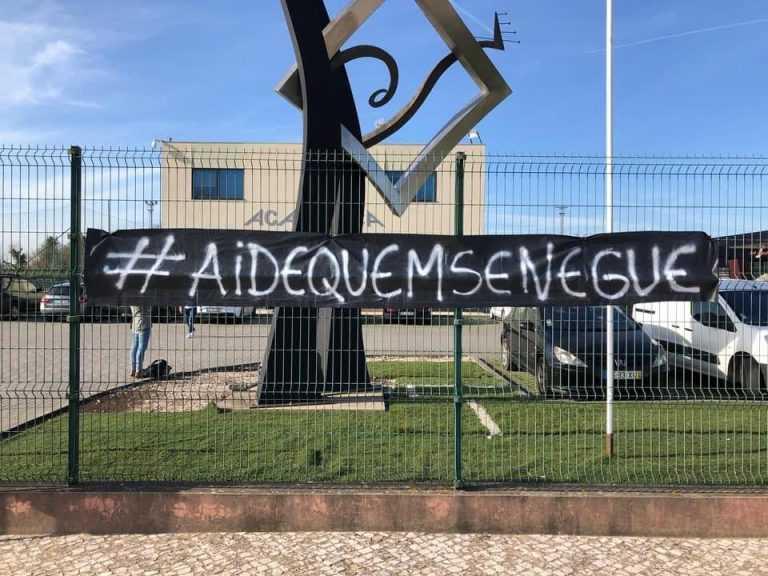 Jornal Campeão: Mistério desvendado: Mancha Negra deixou mensagem nas ruas de Coimbra