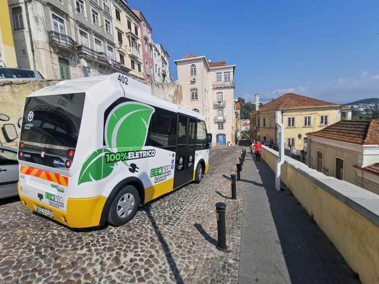 Jornal Campeão: Autocarros eléctricos dos SMTUC evitam 510 toneladas de CO2