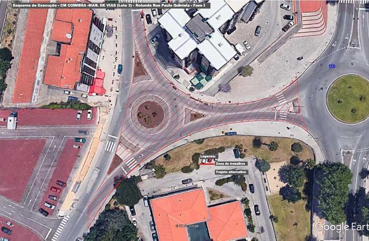 Jornal Campeão: Câmara de Coimbra repavimenta rua de Dom Pedro de Cristo