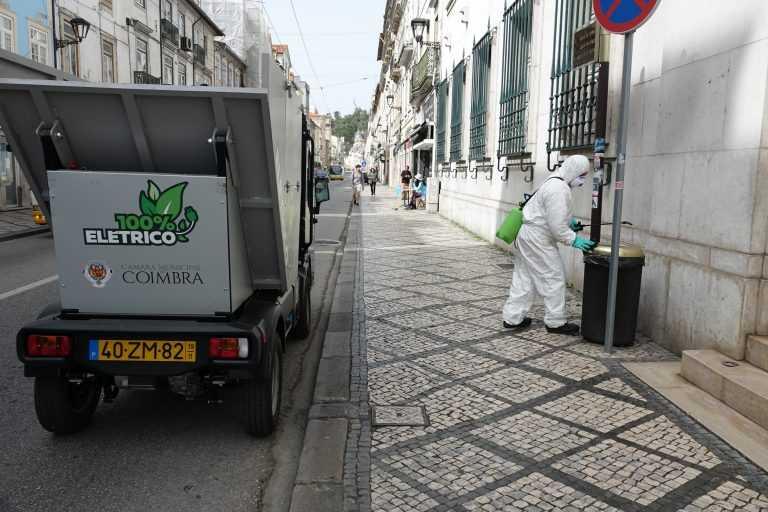 Jornal Campeão: Câmara de Coimbra reforça desinfecção do espaço público