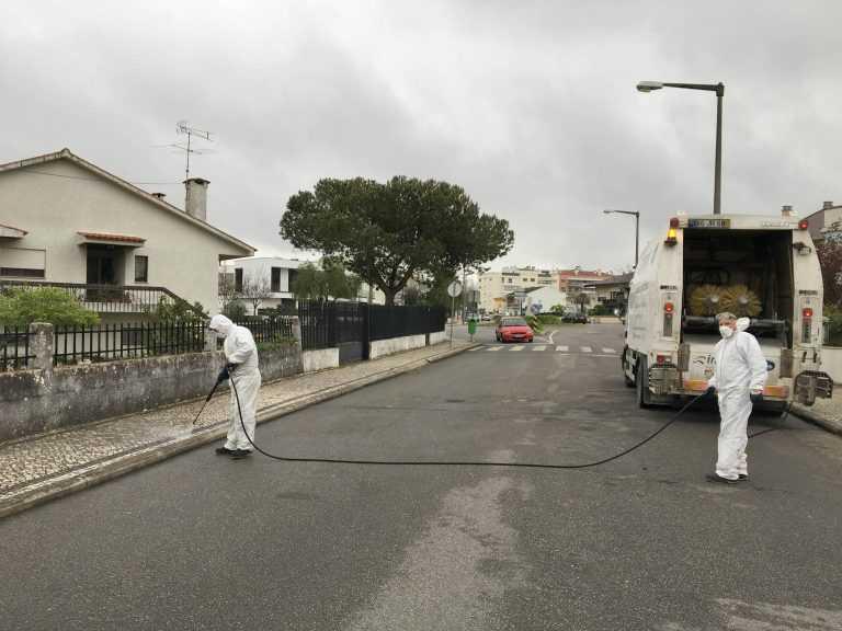 Jornal Campeão: Cantanhede desinfecta zonas de maior afluência