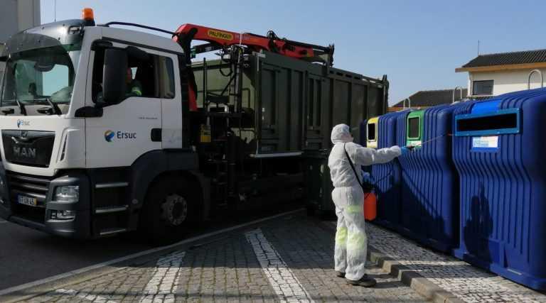Jornal Campeão: ERSUC faz a higienização dos Ecopontos em 36 municípios