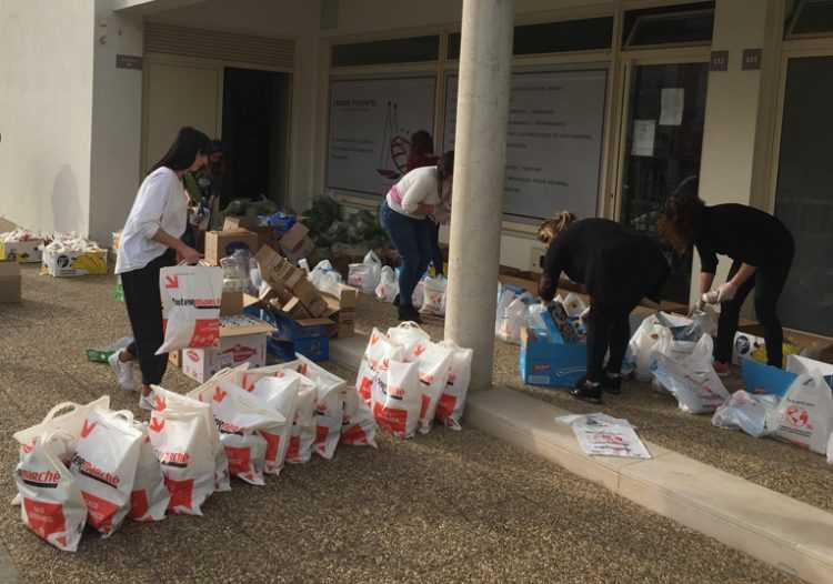 Jornal Campeão: Condeixa: Câmara distribui cabazes alimentares a alunos necessitados