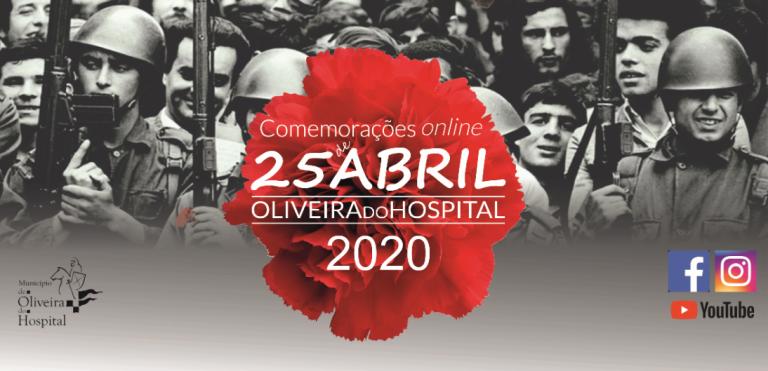 Jornal Campeão: Oliveira do Hospital assinala 25 de Abril através da Internet