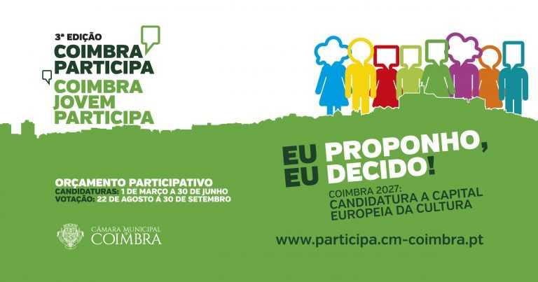 Jornal Campeão: Orçamento Participativo de Coimbra com novo calendário