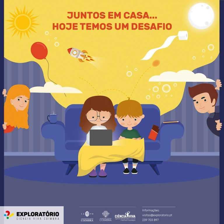 Jornal Campeão: Exploratório reforça linha telefónica para levar actividades a casa das famílias