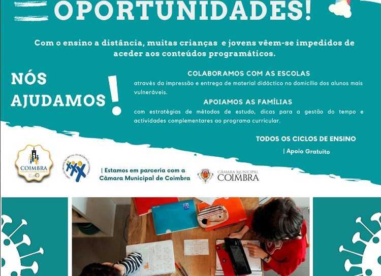Jornal Campeão: CLDS – 4G Coimbra entrega materiais pedagógicos ao domicílio