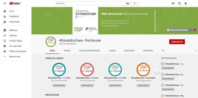 """Jornal Campeão: Ministério da Educação e YouTube criam cinco canais para apoiar o """"#EstudoEmCasa"""""""