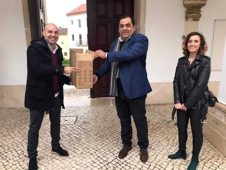 Jornal Campeão: Câmara de Condeixa entregou material de proteção às IPSS do concelho