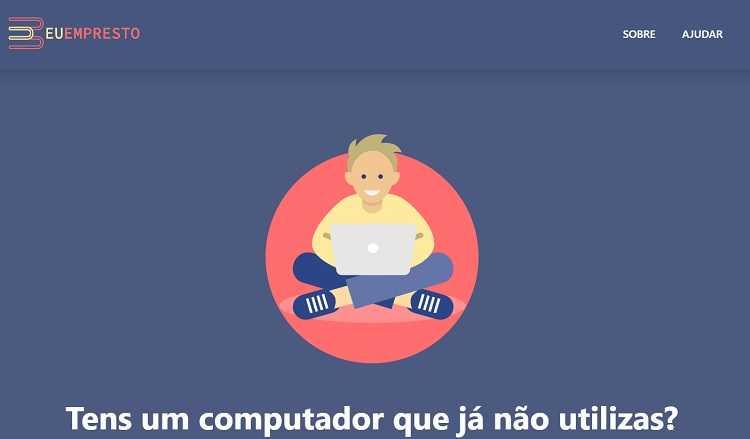 """Jornal Campeão: Iniciativa """"Eu Empresto"""" recolhe equipamentos informáticos para alunos"""