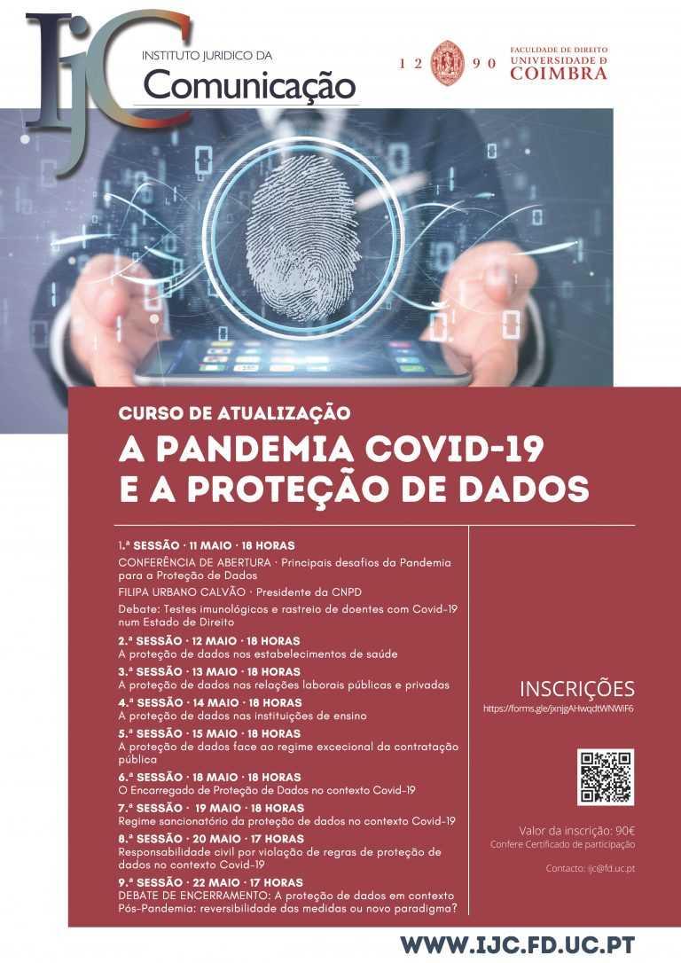 Jornal Campeão: Instituto Jurídico da Comunicação: Protecção de dados em tempo de pandemia