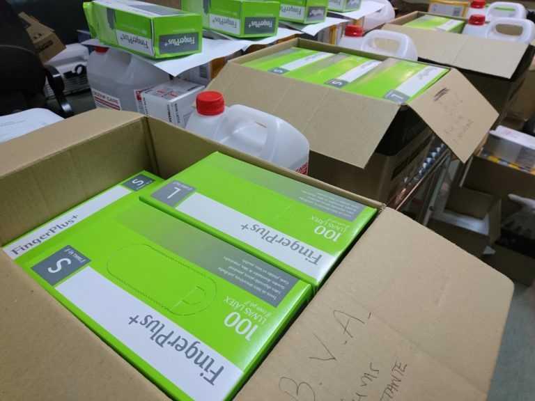 Jornal Campeão: Município de Arganil entrega material de protecção individual
