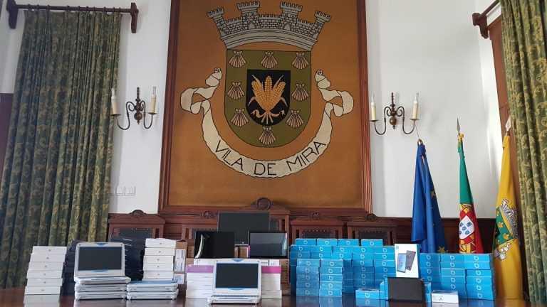 Jornal Campeão: Câmara de Mira e Condeixa asseguram que alunos têm equipamentos e Internet