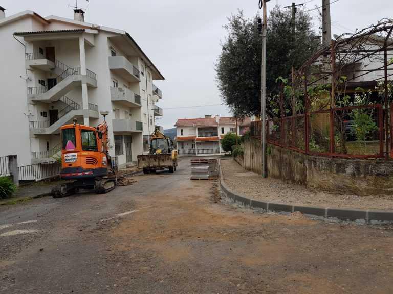 Jornal Campeão: Município reabilita ruas do Bairro do Abrunhós em Arganil