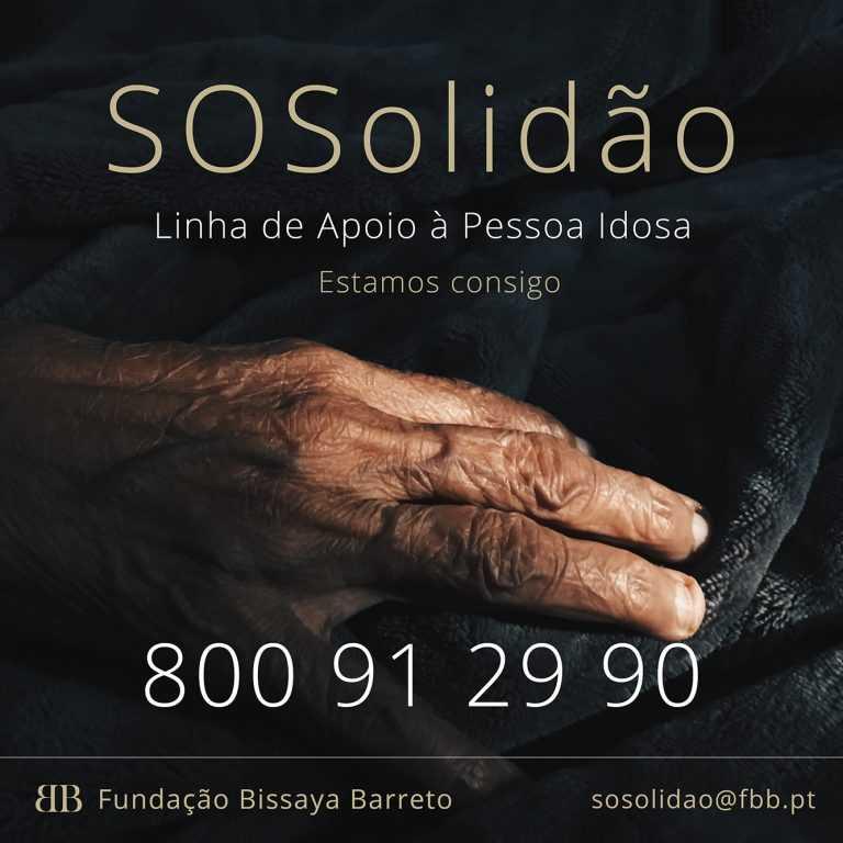 Jornal Campeão: Bissaya Barreto cria linha SOSolidão para aliviar efeitos do confinamento