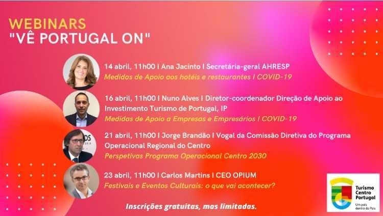 Jornal Campeão: Turismo Centro de Portugal promove video-conferências sobre turismo e eventos