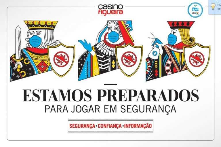 """Jornal Campeão: Casino Figueira reabre dia 01 de Junho com certificado """"Clean&Safe"""""""