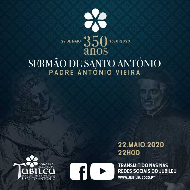 """Jornal Campeão: Jubileu celebra 350 anos do """"Sermão de Santo António"""" do Padre António Vieira"""