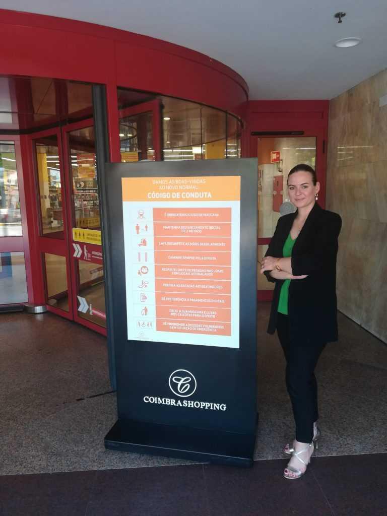 Jornal Campeão: CoimbraShopping abre dia 01 de Junho com medidas adicionais de segurança