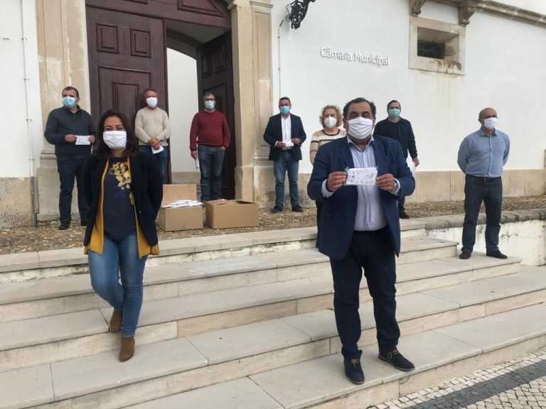 Jornal Campeão: Condeixa distribui máscaras comunitárias à população