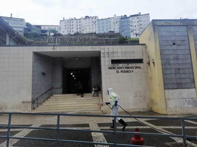 Jornal Campeão: Águas de Coimbra realizam operação de limpeza do espaço público da cidade