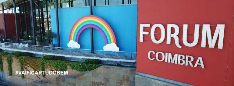 """Jornal Campeão: Forum Coimbra cria """"Arco-Íris"""" de esperança"""