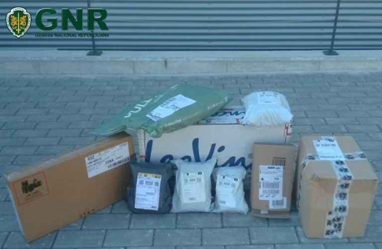 Jornal Campeão: GNR de Coimbra deteve um homem e recupera o material furtado