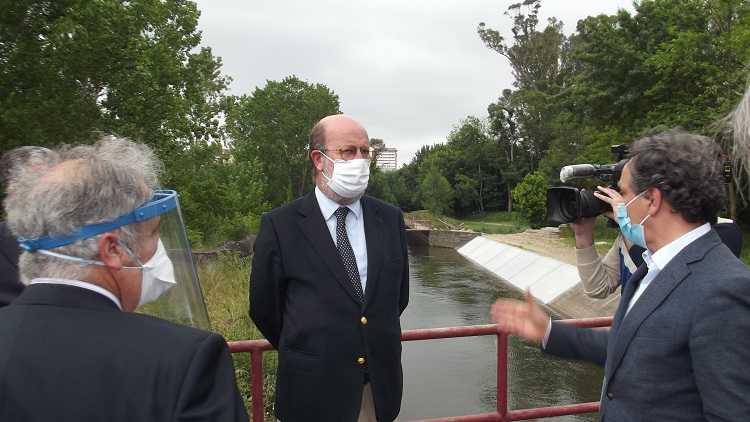 Jornal Campeão: Ministro do Ambiente visitou obras no Baixo Mondego, algumas já concluídas