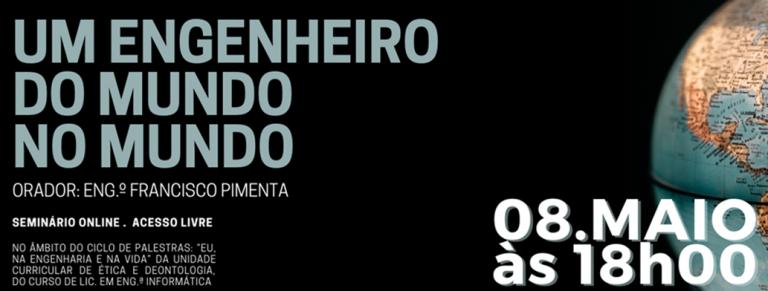 """Jornal Campeão: ISEC promove palestra sobre """"Um Engenheiro do Mundo no Mundo"""""""
