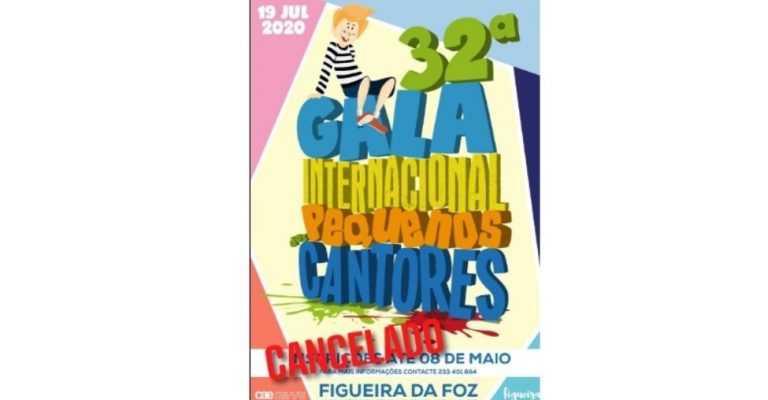 Jornal Campeão: Figueira da Foz cancela Gala Internacional dos Pequenos Cantores