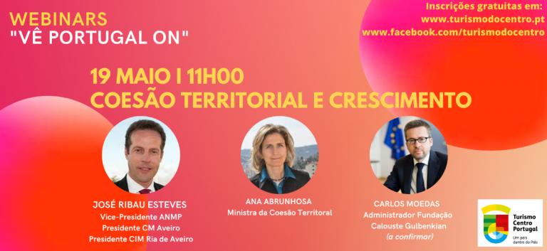 Jornal Campeão: Webinar da Turismo do Centro conta com a ministra Ana Abrunhosa e Ribau Esteves