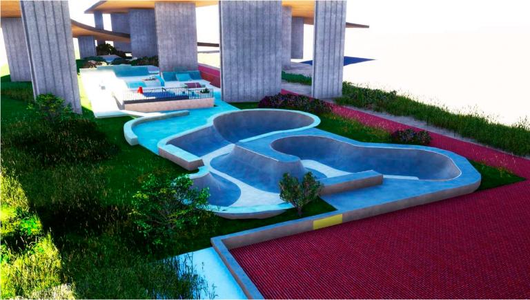 Jornal Campeão: Coimbra vai ter um Parque de Skate junto ao rio Mondego
