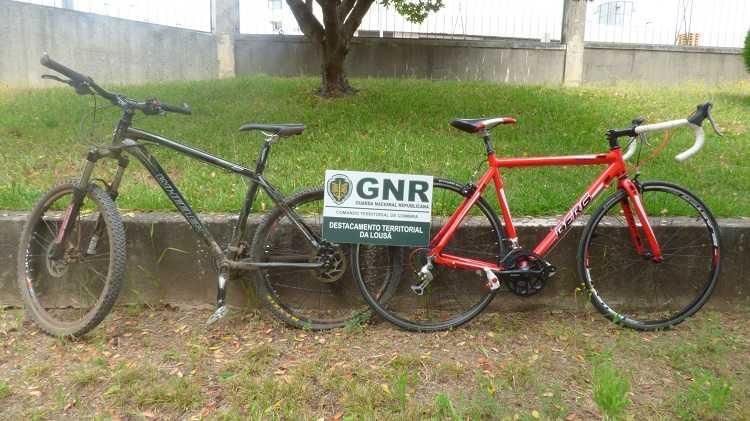 Jornal Campeão: Lousã: GNR recupera bicicletas furtadas