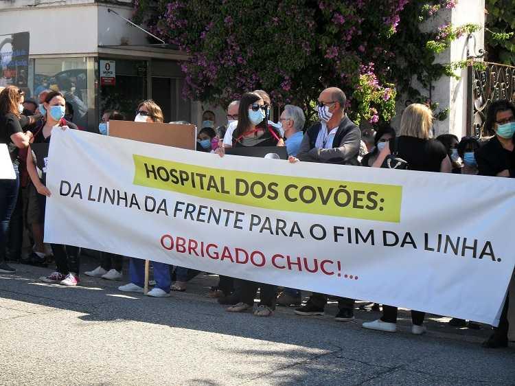 Jornal Campeão: Coimbra: Praça da República é tribuna pela defesa dos Covões
