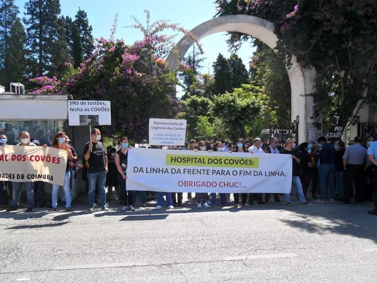 Jornal Campeão: Mais de 2 000 pessoas manifestaram-se pela defesa do Hospital dos Covões