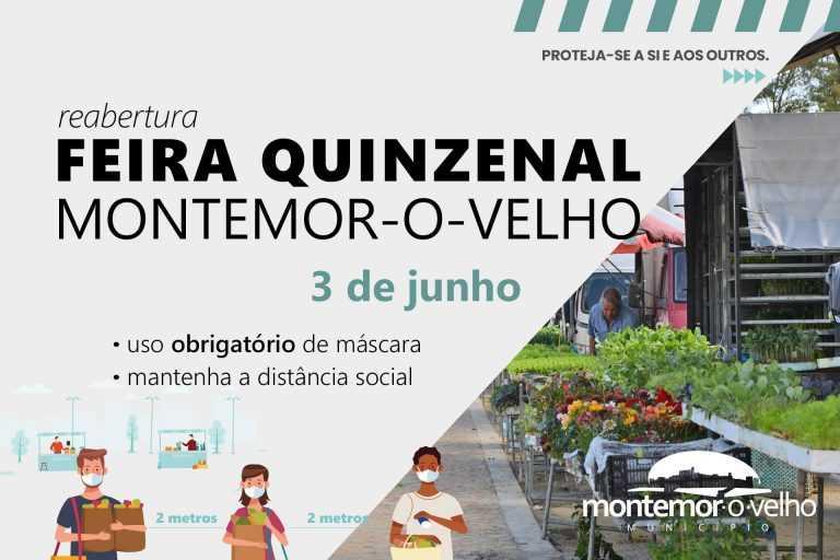 Jornal Campeão: Feira quinzenal de Montemor-o-Velho regressa esta quarta-feira
