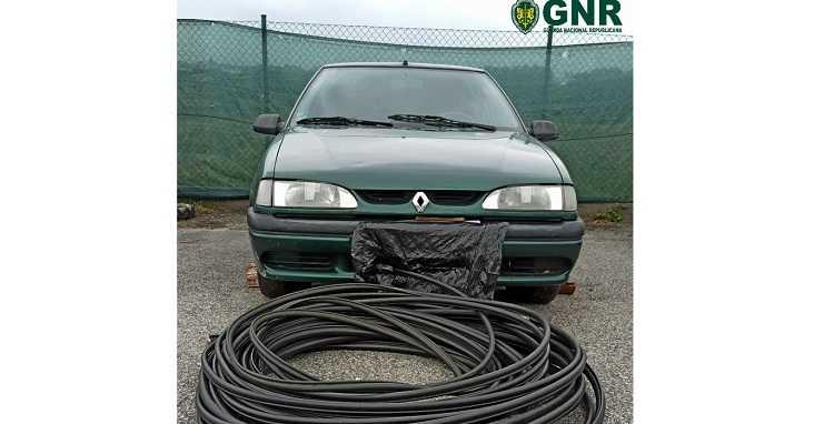 Jornal Campeão: GNR recuperou 80 metros de cobre em Tábua