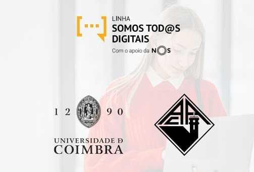 """Jornal Campeão: UC e AAC unem-se ao projecto da linha de apoio """"Somos Tod@s Digitais"""""""