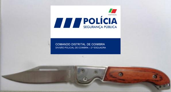 Jornal Campeão: Coimbra: Detido por agredir mulher a soco e com uma faca