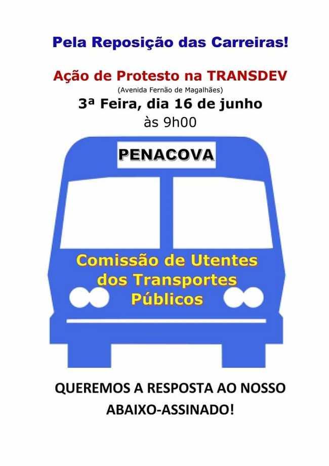 Jornal Campeão: Utentes de Penacova descontentes com falta de transportes